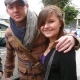 @ChanningTatum with Fan @chelsjdbieber in the UK