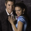 Jenna Dewan and Josh Henderson on the Set of 'The Jerk Theory'