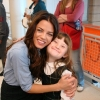 Jenna Dewan and Lilly on the Set of 'The Jerk Theory'