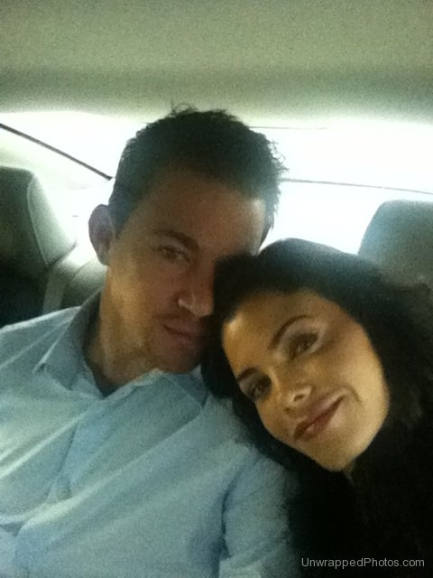 @ChanningTatum & @JennalDewan on the Way to Set of 'Ten Year' (12-21-2010)