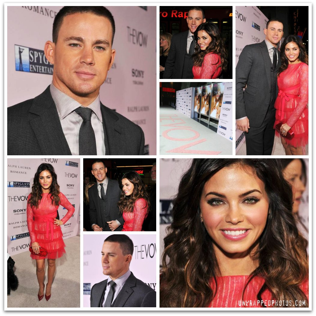 Exclusive Photos of Channing Tatum, Jenna Dewan-Tatum and the Fam at 'The Vow' Premiere
