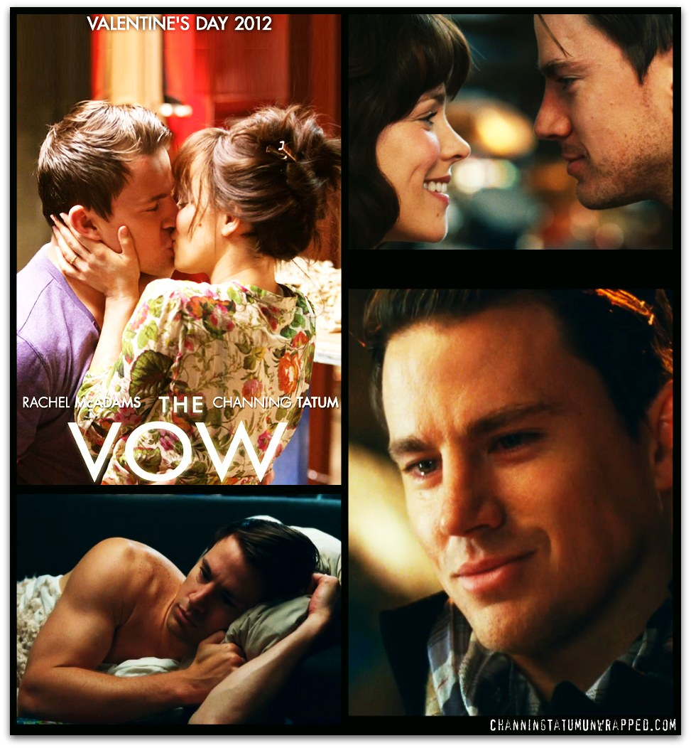 New Screen Caps and Wallpapers for Channing Tatum and Rachel McAdams' 'The Vow'