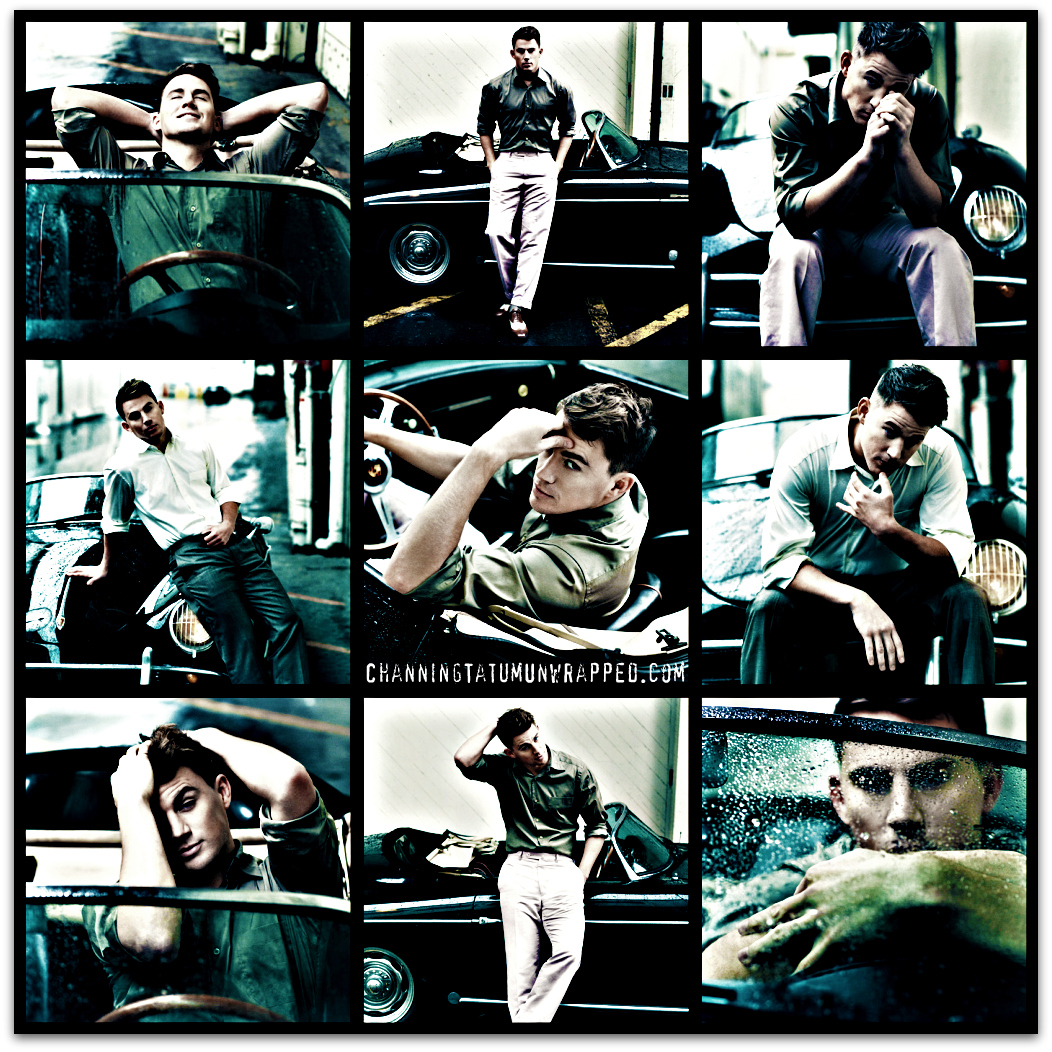 Outtakes of Channing Tatum in Vanity Fair Photoshoot for April 2009 Issue (Wallpaper)