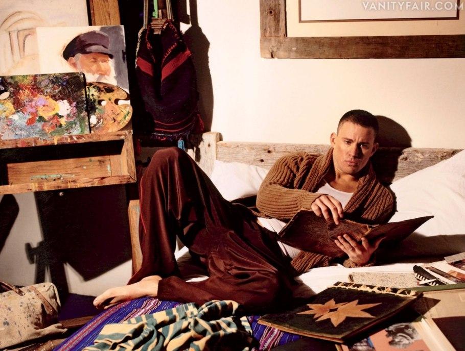 Channing Tatum Revista Vanity Fair 2013 Usa Magic Mike