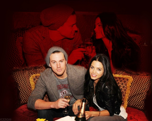 @ChanningTatum and @JennalDewan Wallpaper from @ezzgiii_