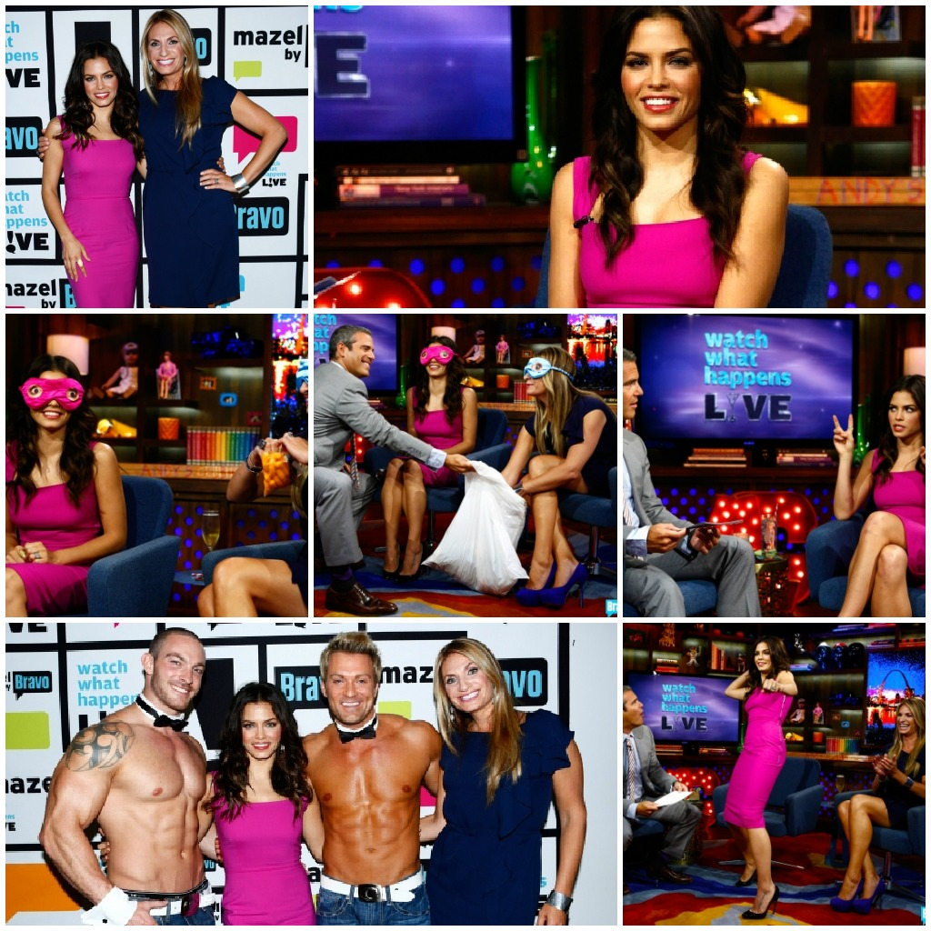 Jenna Dewan-Tatum on Bravo's Watch What Happens Live