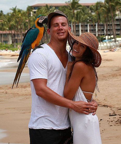 Channing Tatum Jenna Dewan Engagement Sep 2008 2