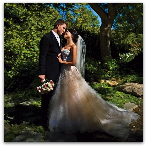 Channing Tatum and Jenna Dewan Wedding Photo