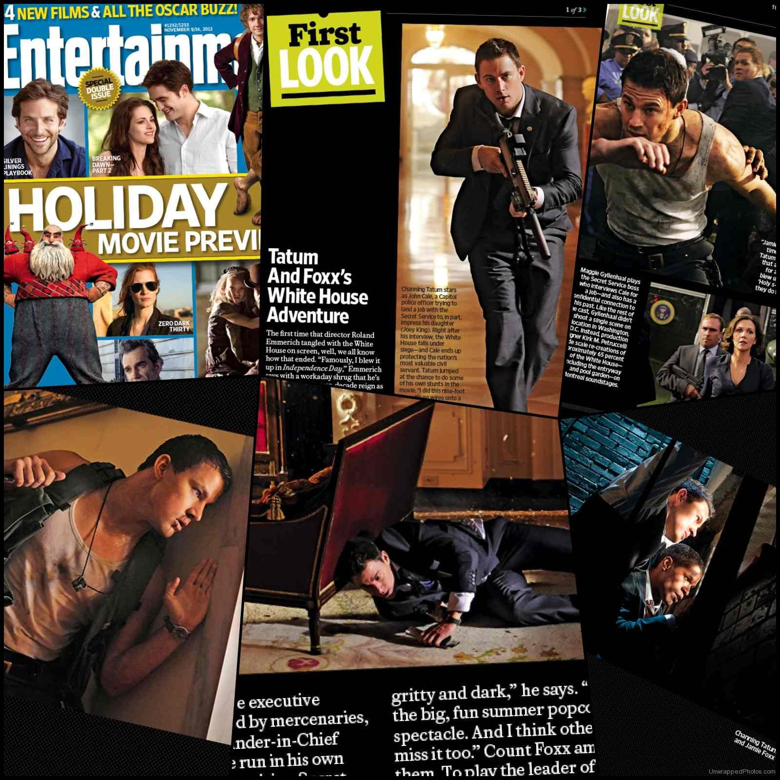 Entertainment Weekly&#8217;s First Look at Channing Tatum&#8217;s White House Down